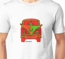 Splitty VW Bus Front Glow Unisex T-Shirt