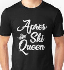 Apres Ski Queen Unisex T-Shirt