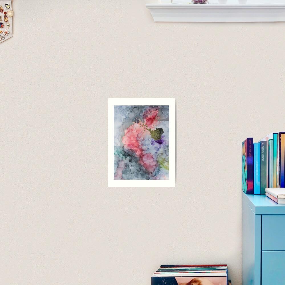 Release of an Anxious Mind Art Print