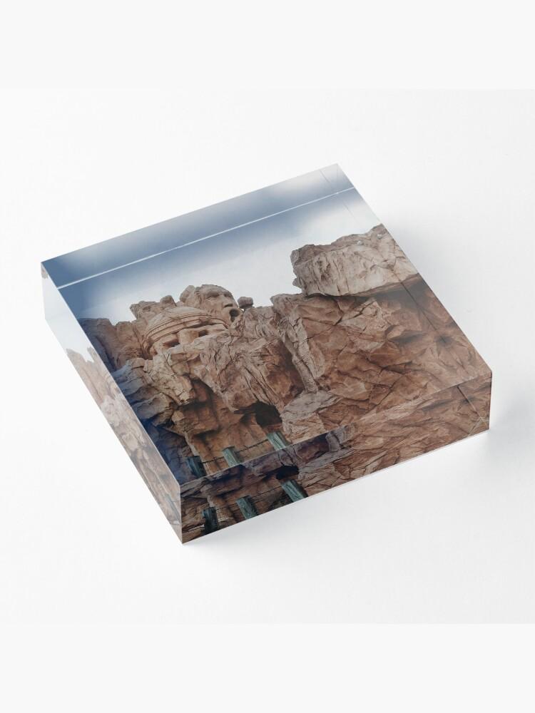 Alternate view of Mythos Acrylic Block
