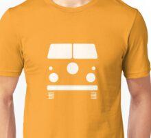 Split Shape VW Front White Unisex T-Shirt