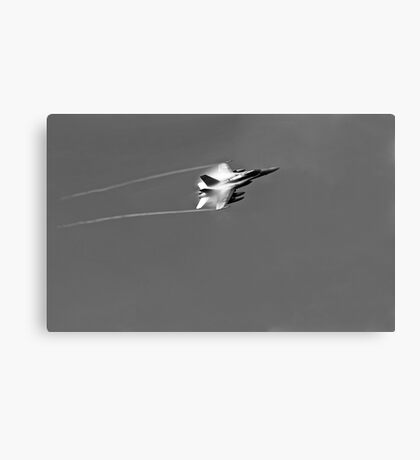 F 18 Jet with a Vapor Trail Canvas Print
