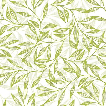 Green leaves by Anviczo