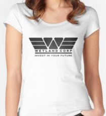 Weyland Corporation Women's Fitted Scoop T-Shirt
