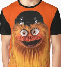 Gritty Philadelphia Flyers Mascot Graphic T-Shirt