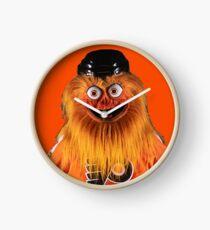 Gritty Philadelphia Flyers Mascot Clock