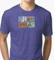 ~ Colors ~ Colours ~ Couleur  - JUSTART ©  Tri-blend T-Shirt