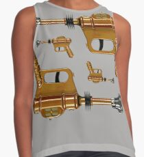 Cool Vintage Ray Guns Contrast Tank