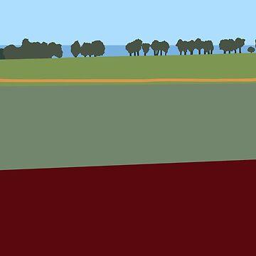 Farming by the Sea by artkleko