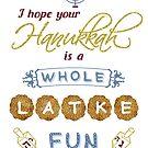 Hanukkah is a Whole Latke Fun Funny by emkayhess