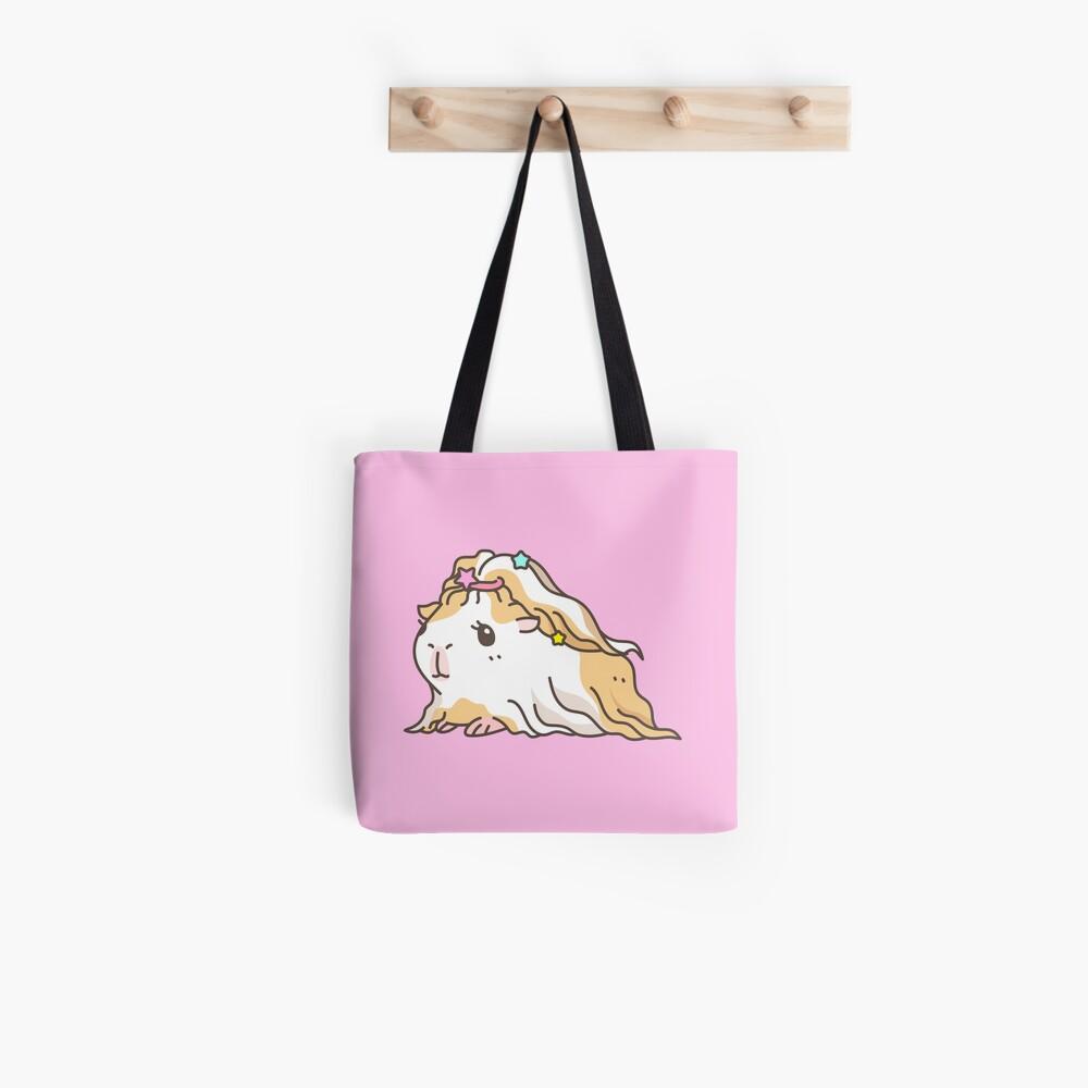 Silkie Guinea pig  Tote Bag