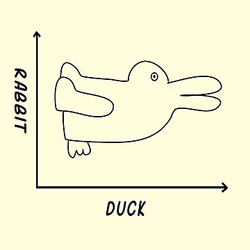 Duck/Rabbit Graph by bethcentral