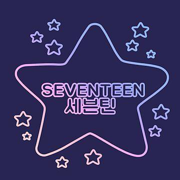 SEVENTEEN 세븐틴 KPOP by shannonpaints