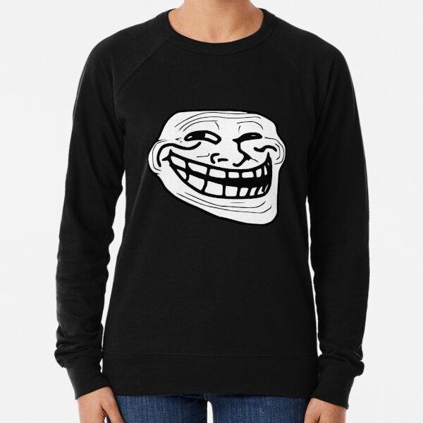 Troll Face Meme Sweatshirt léger