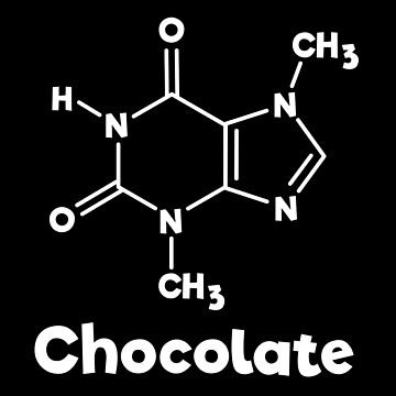 Chocolate Molecule Chemistry Science  by happinessinatee