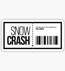 Snow Crash-freie Probe Sticker