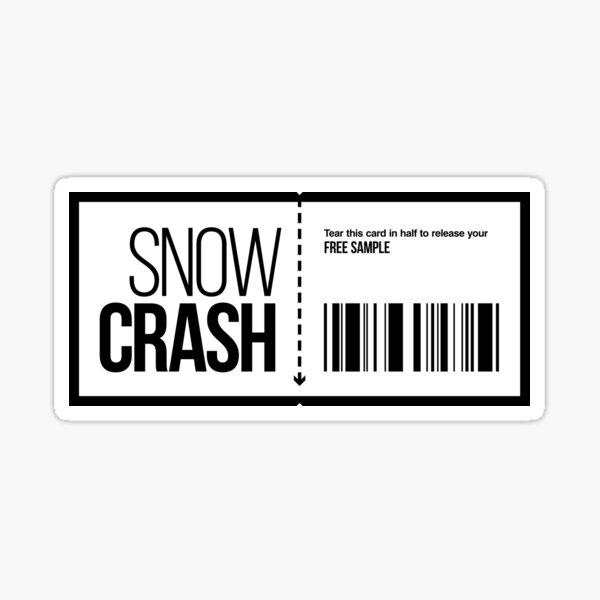 Snow Crash Free Sample Sticker