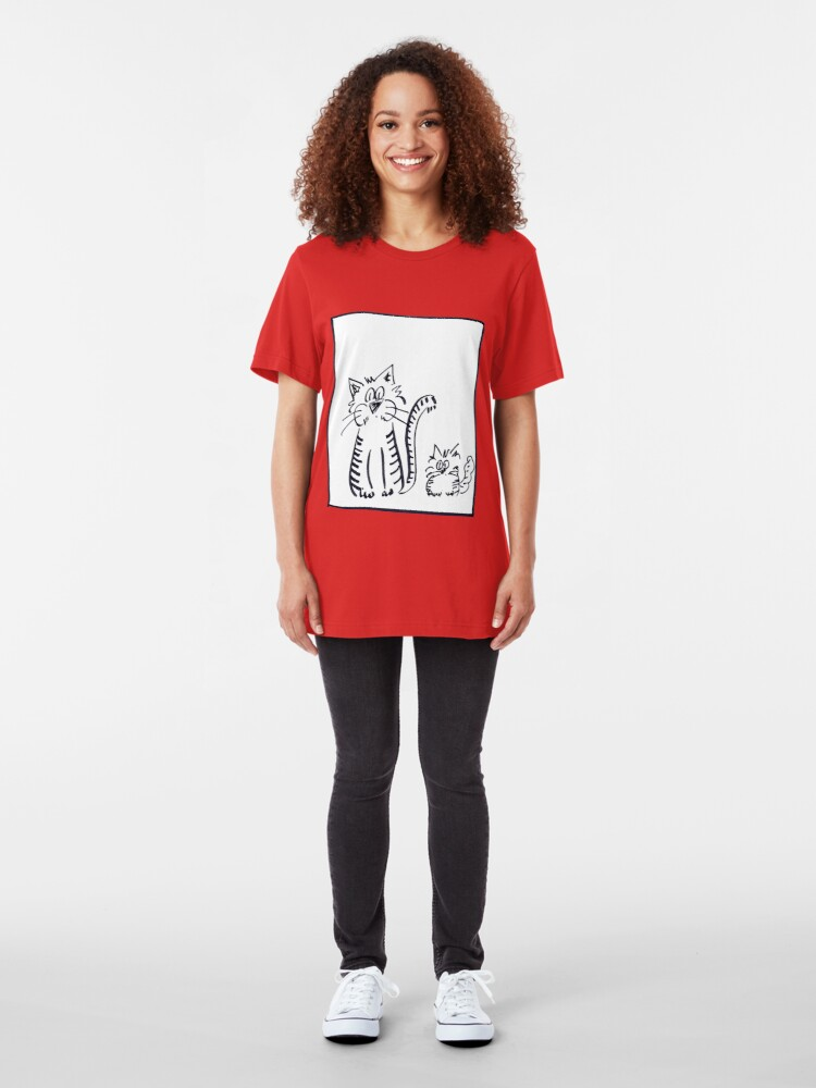 Alternate view of cather and son Slim Fit T-Shirt