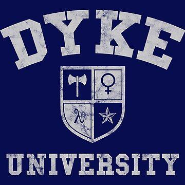 Dyke University by lavenderhearts