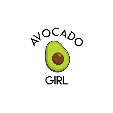 Avocado Girl by TommaLlama