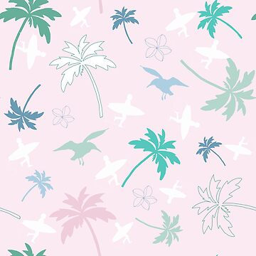 Tropical Shell Pink by karin