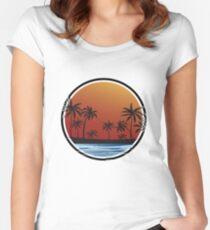 Bienvenido Verano Fitted Scoop T-Shirt
