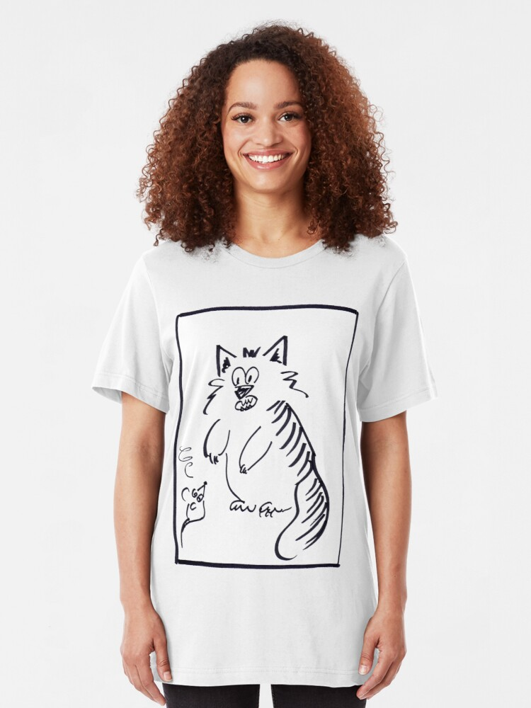 Alternate view of Mousid and Catliad Slim Fit T-Shirt