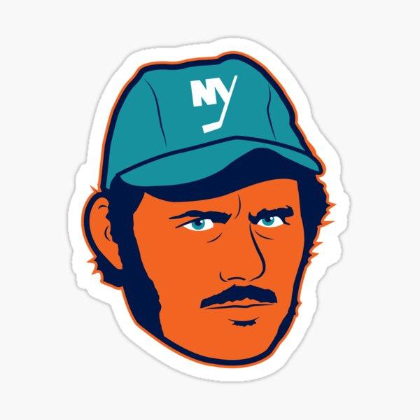 Islanders Fisherman Sticker