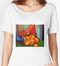 Picasso's Fruit Women's Relaxed Fit T-Shirt