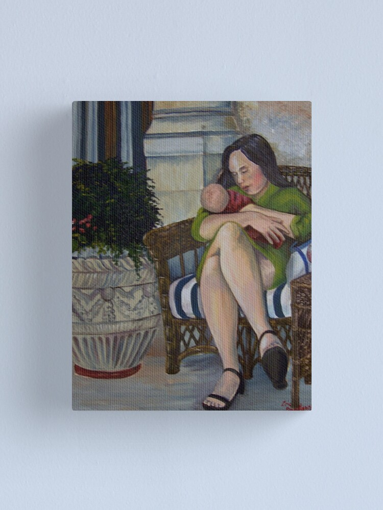 Alternate view of Madonna and Child  Canvas Print