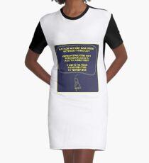 Election Graphic T-Shirt Dress