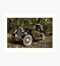 Morris Eight Series 1 Art Print