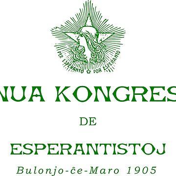 Unua Kongreso de Esperantistoj - Bulonjo-ĉe-Maro, 1905 - First Congress of Esperantists - Boulogne-sur-Mer, 1905 by jonizaak