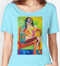 Sitting In The Sun Women's Relaxed Fit T-Shirt