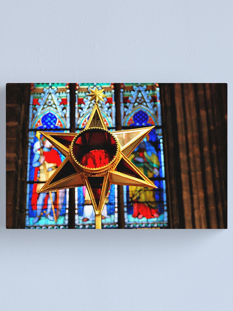 Alternate view of St. Vitus Cathedral. Decoration Canvas Print