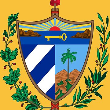 CUBA COAT OF ARMS by planetterra