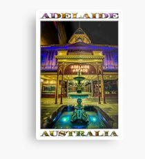 Adelaide Arcade Facade (poster edition) Metal Print