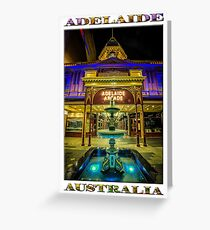 Adelaide Arcade Facade (poster edition) Greeting Card
