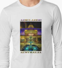 Adelaide Arcade Facade (poster edition) Long Sleeve T-Shirt