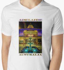 Adelaide Arcade Facade (poster edition) Men's V-Neck T-Shirt