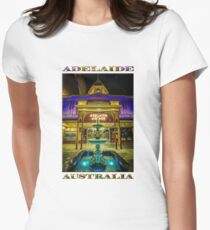 Adelaide Arcade Facade (poster edition) Women's Fitted T-Shirt