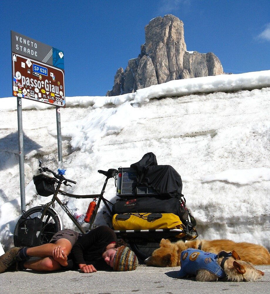 The Pass, Italian Dolomites by Fin Gypsy