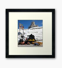 The Pass, Italian Dolomites Framed Print