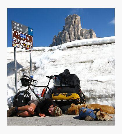 The Pass, Italian Dolomites Photographic Print