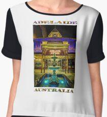 Adelaide Arcade Facade (poster edition) Chiffon Top