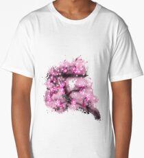 Blossoms branch glowing Art Long T-Shirt