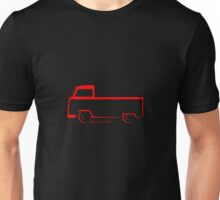 Bay Window Shape Single Cab Unisex T-Shirt