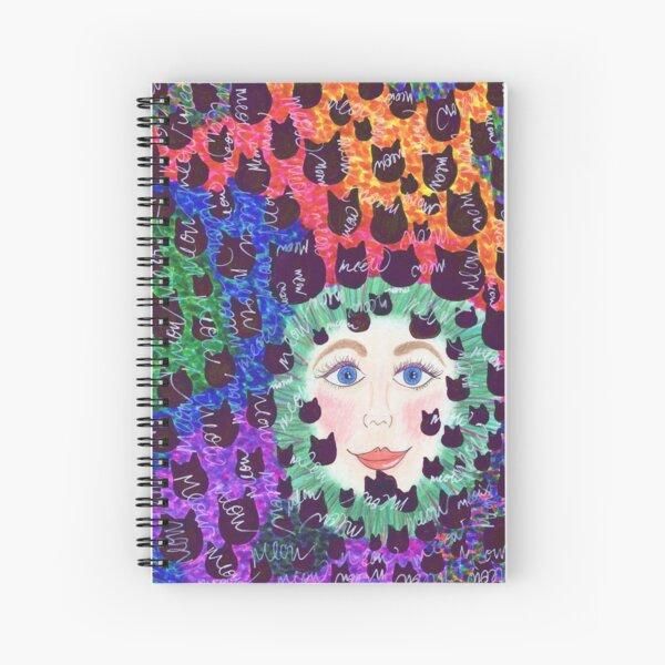 Crazy Cat Lady Spiral Notebook