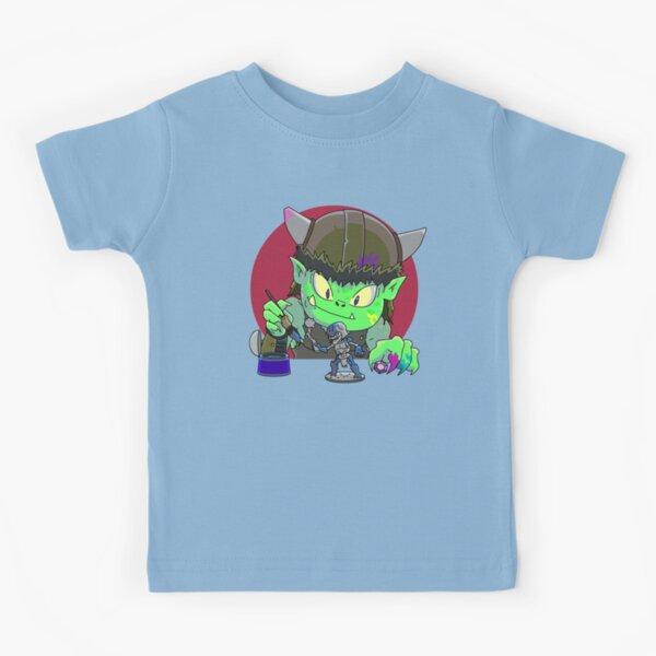 Miniature Battle Paints Kids T-Shirt