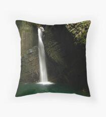 Kozjak Slap, Slovenia Throw Pillow